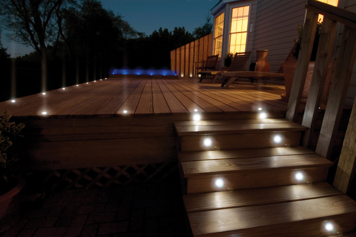 Recessed SS316 Round RGB LED Deck Light